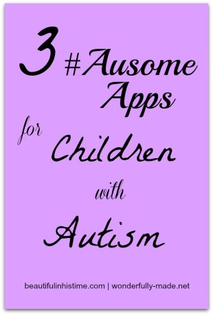 3 ausome apps for children with autism