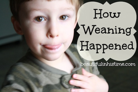 How weaning happened