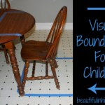 Visual boundaries for children