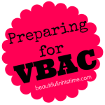 31 Days of Preparing for VBAC {An Introduction}