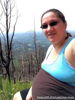 hiking 38 weeks