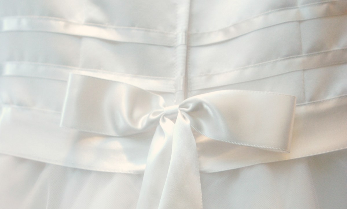 An open letter to the military bride who will wear my wedding gown