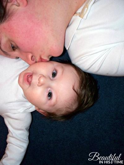 ezra as a baby