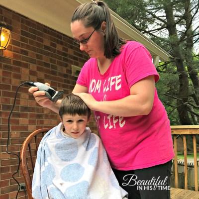 mom haircut