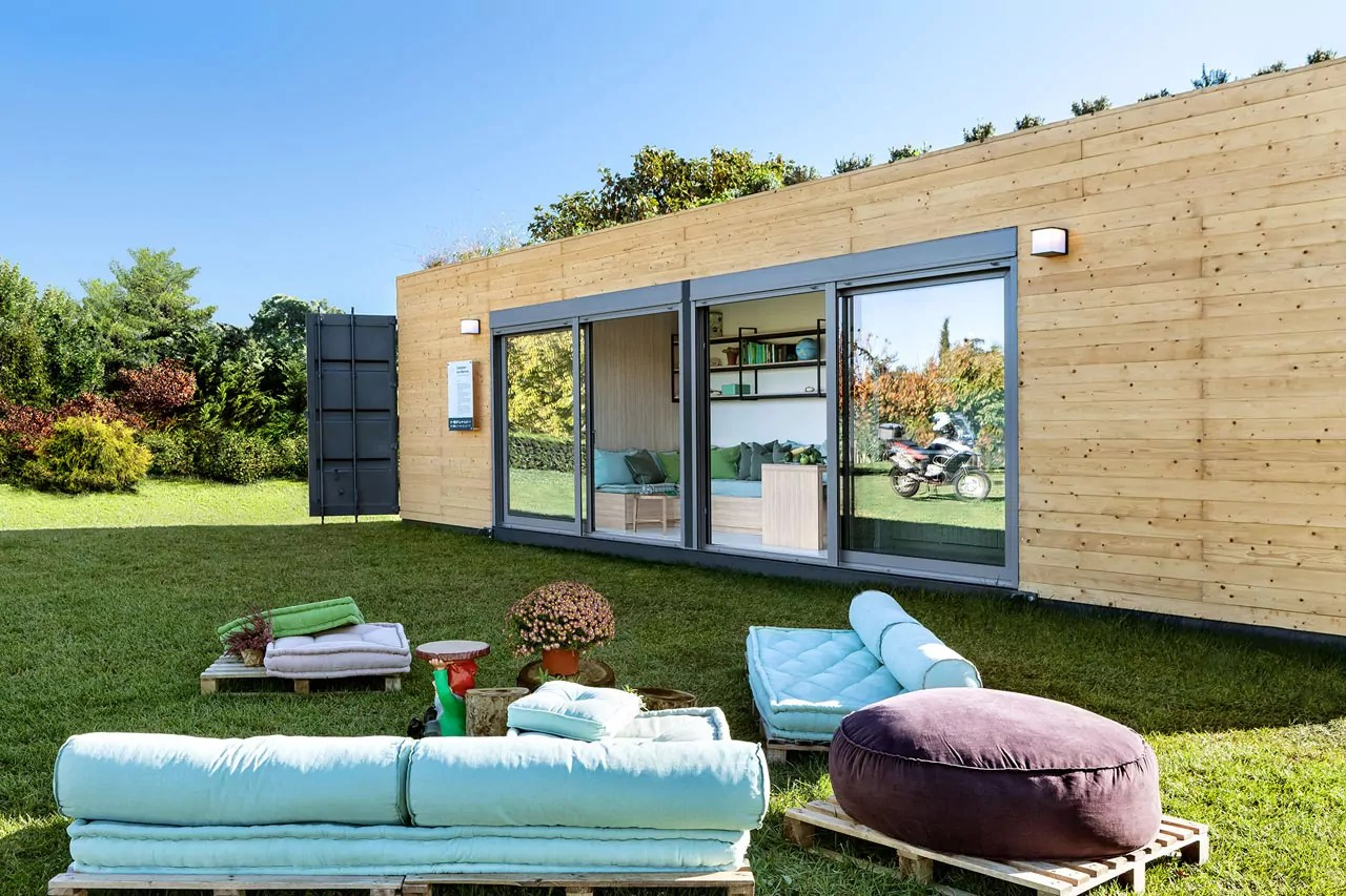 Container Haus Villa Contemporary Shipping Container Home From Cocoon Modules