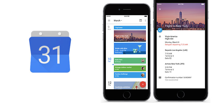 Google Calendar for iOS \u2022 Beautiful Pixels