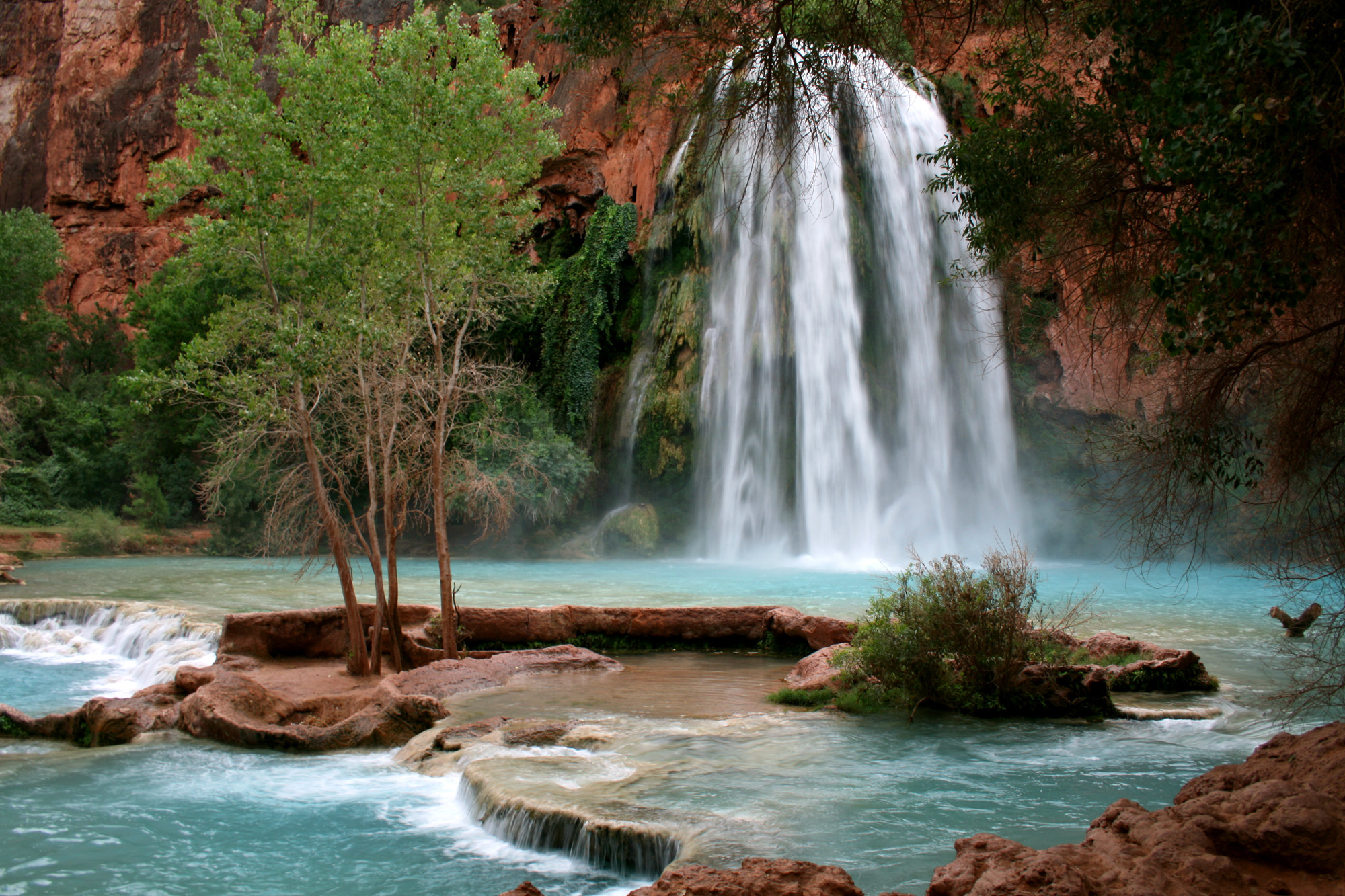 Havasu Falls Arizona Usa Beautiful Places To Visitbeautiful Places To Visit