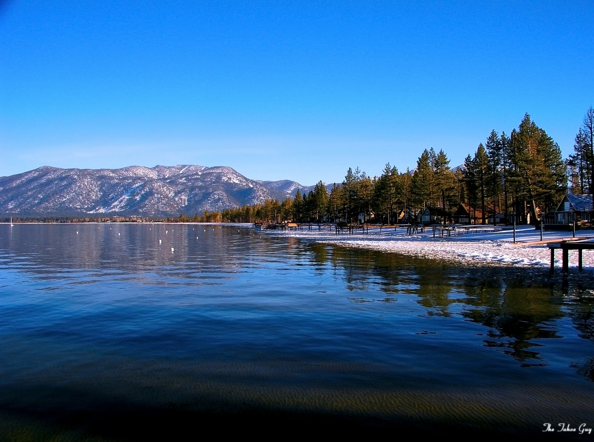 Lake Tahoe California And Nevada Usa Beautiful Places