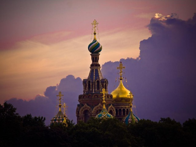 Cathedral of the Resurrection of Christ (Church of the Savior on Spilled Blood), St. Petersburg, Russia