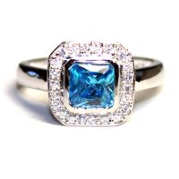Princess Cut Promise Rings - Beautiful Promise Rings