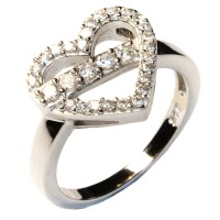Promise Rings: Promise Rings Heart Shape