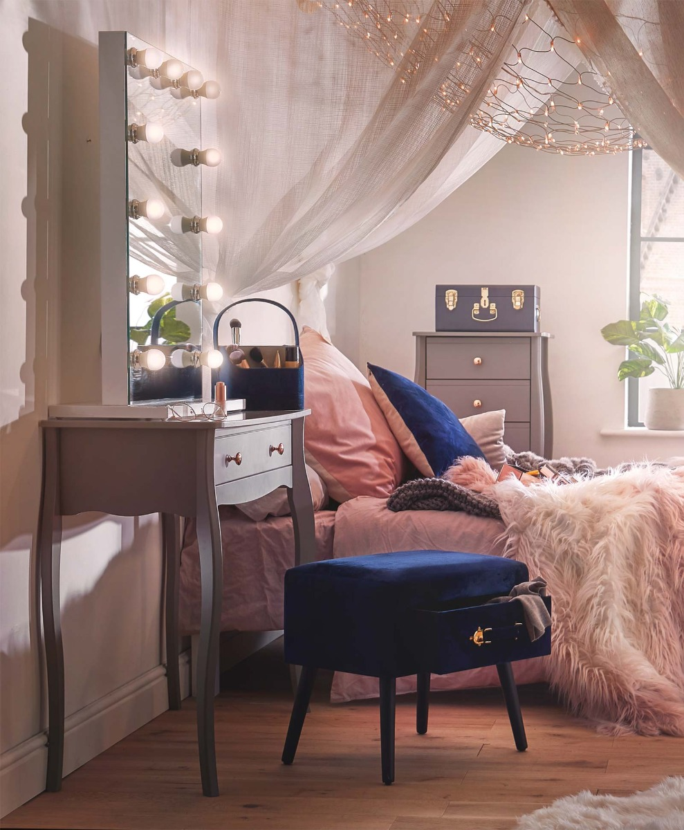 Huge Mirror Dressing Table Styling Beautify