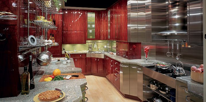 Chef Home Kitchens - 30A Escapes Luxury Home In Heart Of Rosemary - chef kitchen design