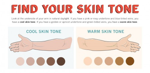 Figuring Out The Best Colors For Your Skin Tone