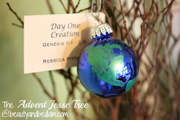 Jesse Tree Ornaments, Jesse Tree Advent, Advent Devotional