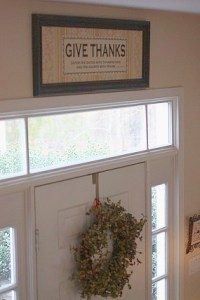 Over Door Decor - Home Decorating Ideas