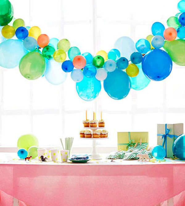 15 Minute Party Planning Ideas Create One Focal Point - Balancing - party planning