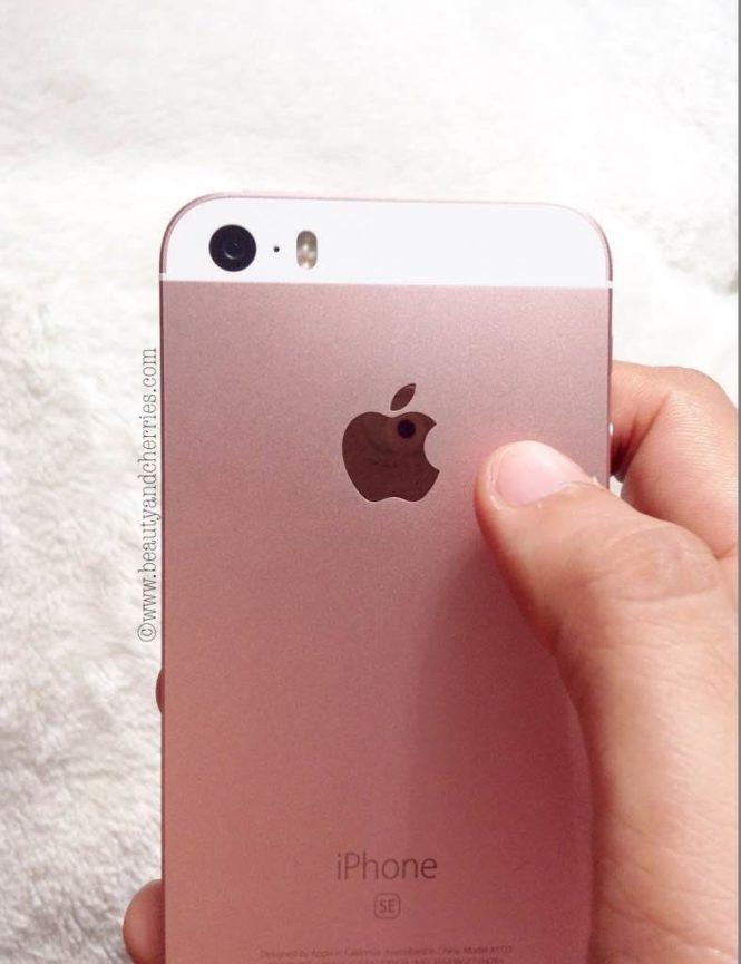 rose gold apple logo
