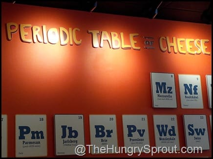 The Periodic Table of Cheese- Toasted Orlando
