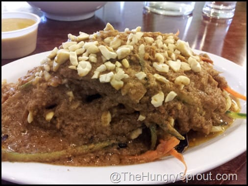 Pad Thai The Vegan Cafe