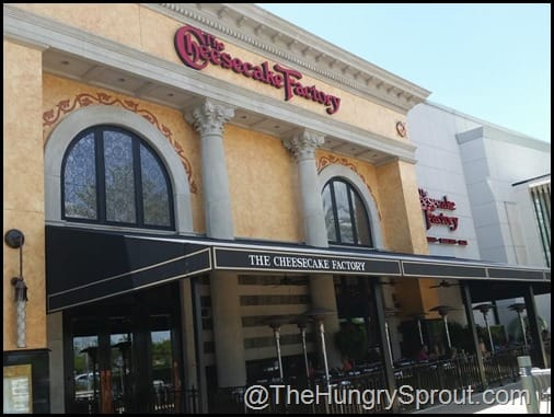 Cheesecake Factory Mall of Millenia