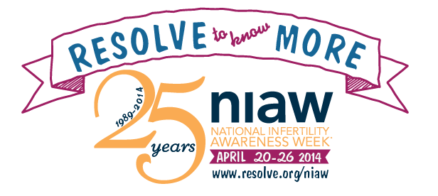 Resolve to Know More... National Infertility Awareness Week April 20-26th
