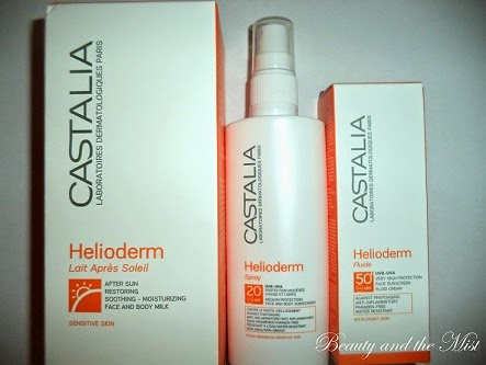 Before we say goodbye to Summer! Castalia Helioderm Products