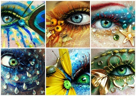 Stunning Eye Make-Up Art by Svenja Schmitt