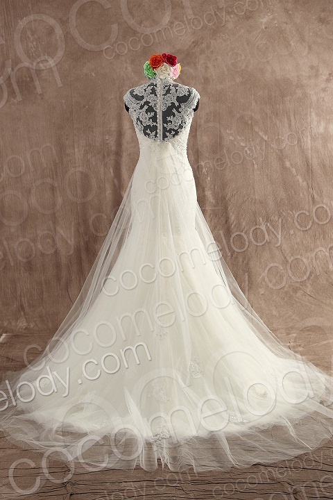 Cocomelody Shows You Distinctive Back Landscape of Wedding Dresses