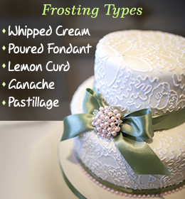 What are the types of frosting - Tastessence
