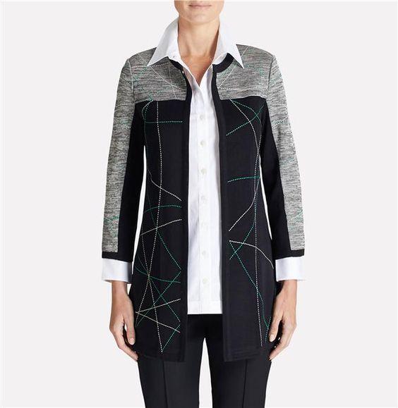 Celestial Pattern Jacket