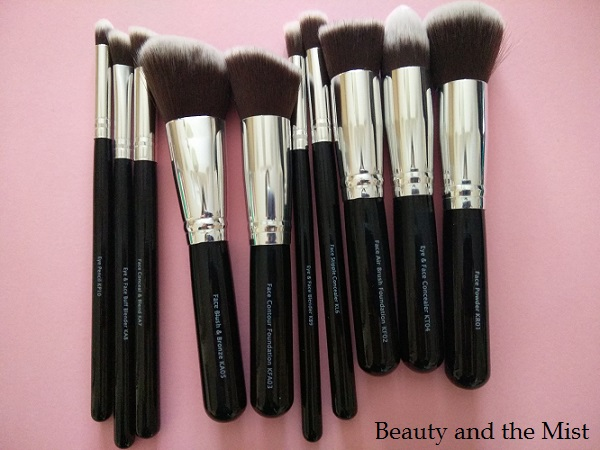 Malika Jafrin Brush Set Presentation and Giveaway Reminder