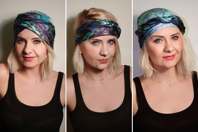 How To Tie Head Scarves Image Of Tie