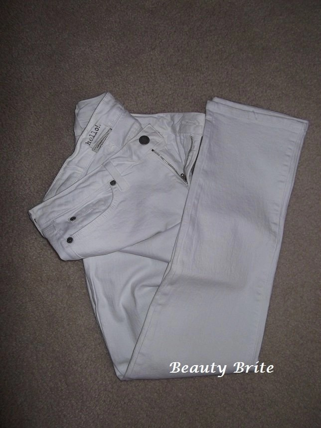 WhiteOut Skinny Jeans