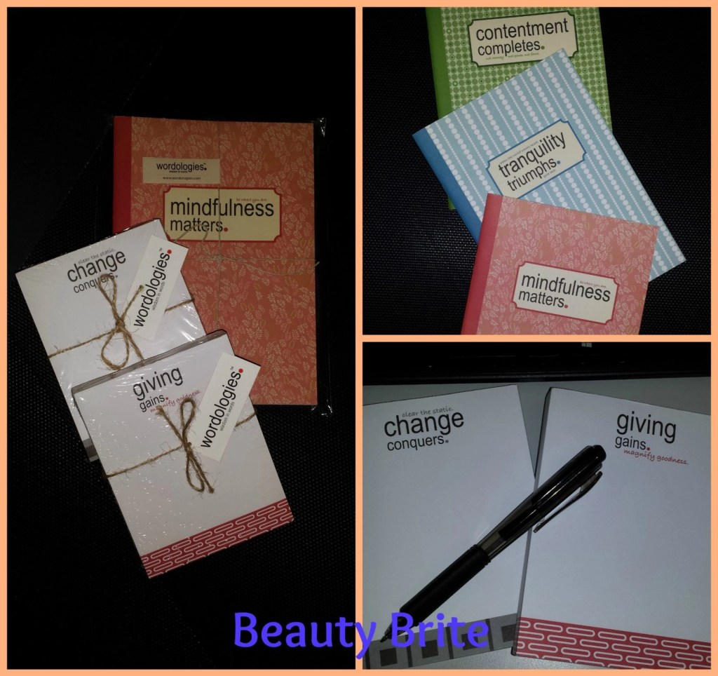 Wordologies Journal Trio and Notepads