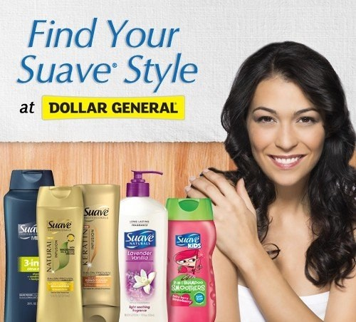 Find Your Suave Style at Dollar General
