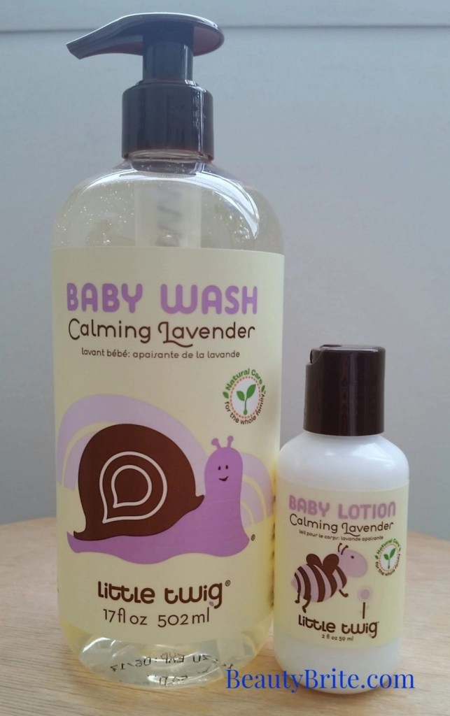 Calming Lavender Baby Wash & Lotion