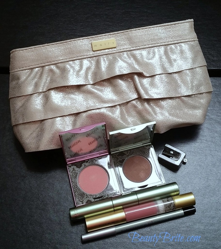 Mally Beauty Mally Golden Rule of Beauty 5-Piece Collection with Clutch Bag