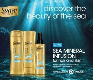 Beauty of the sea with Suave Sea Minerals at Target