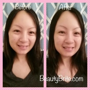 Before/After Beauty Brite