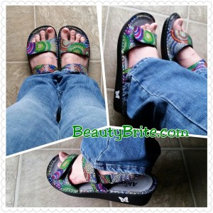 Cute and comfortable sandals beautybrite