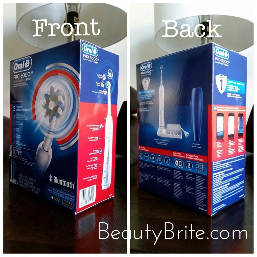 Oral-B PRO SmartSeries 5000 Electric Toothbrush with Bluetooth Connectivity beautybrite