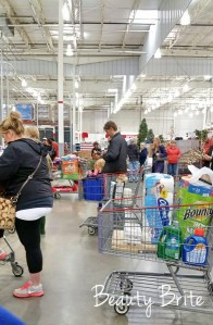 Costco checkout lines beautybrite