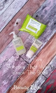 Natural and Pure Skincare That Won't Break The Bank