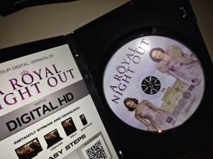 A Royal Night Out DVD-open case1