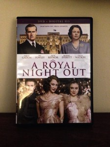 A Royal Night Out DVD-product packaging