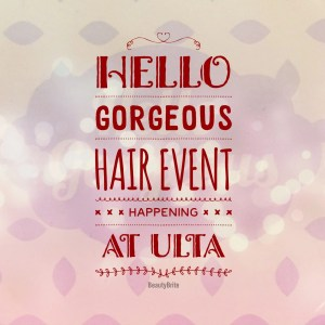 Hello Gorgeous Hair Event