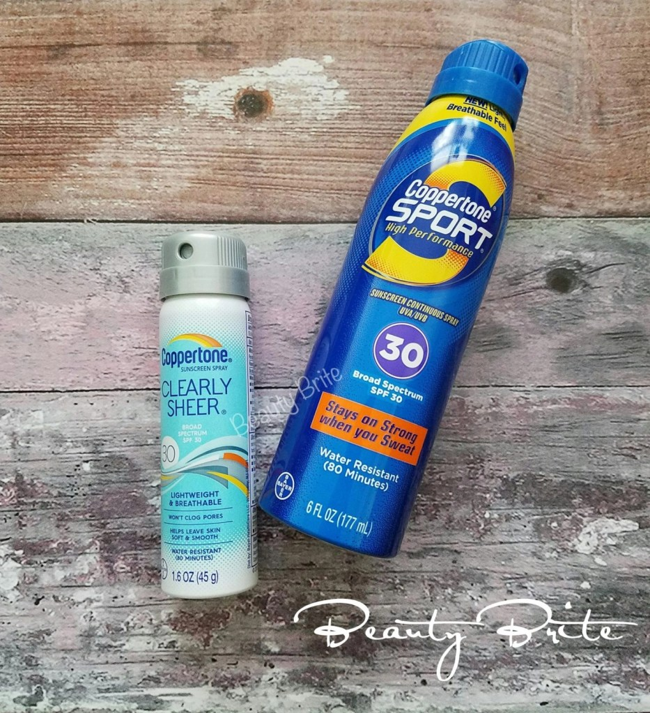 Coppertone Spray Sunscreens
