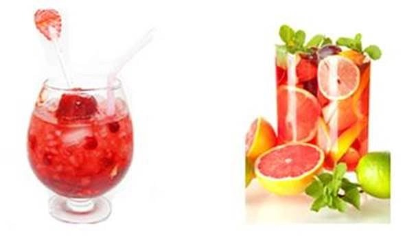 ... weekend, mix up a Cascade Ice Berry Pomegranate Cooler! Here's how
