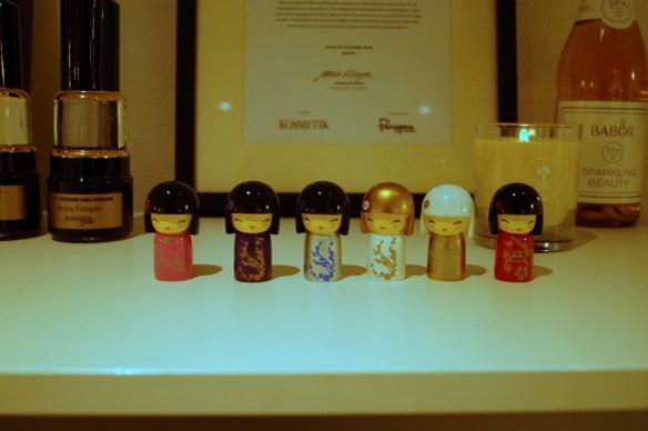 Nyaste Kokeshi-dockorna som Annica designar